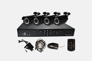 Digital-Video-Rekorder-Set-UL-804-mit-4-Sony-Vario-IR-Kameras