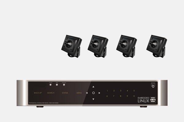 E-8004-SET-4-Kanal-FULL-HD-Hybrid-Videoueberwachung-mit-4-HD-451-mini-Kameras