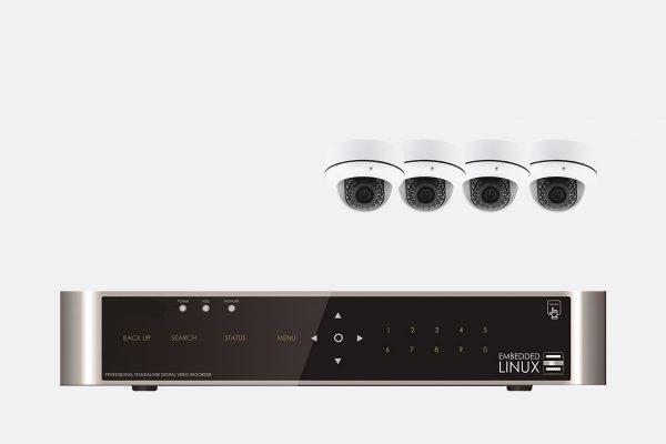 E-8004-SET-4-Kanal-FULL-HD-Hybrid-Videoueberwachung-mit-4-HD-491-Kameras