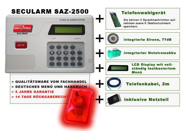 Secularm SAZ-2500-info-Beschreibung