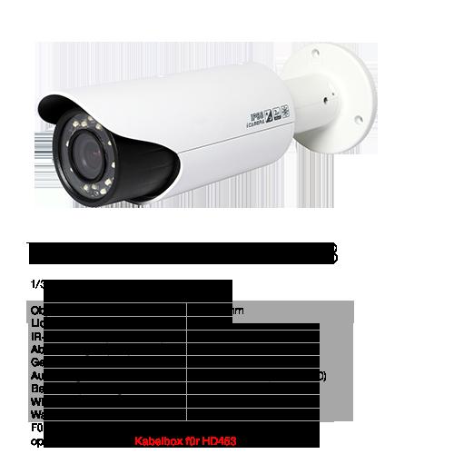 Technische Details HD453
